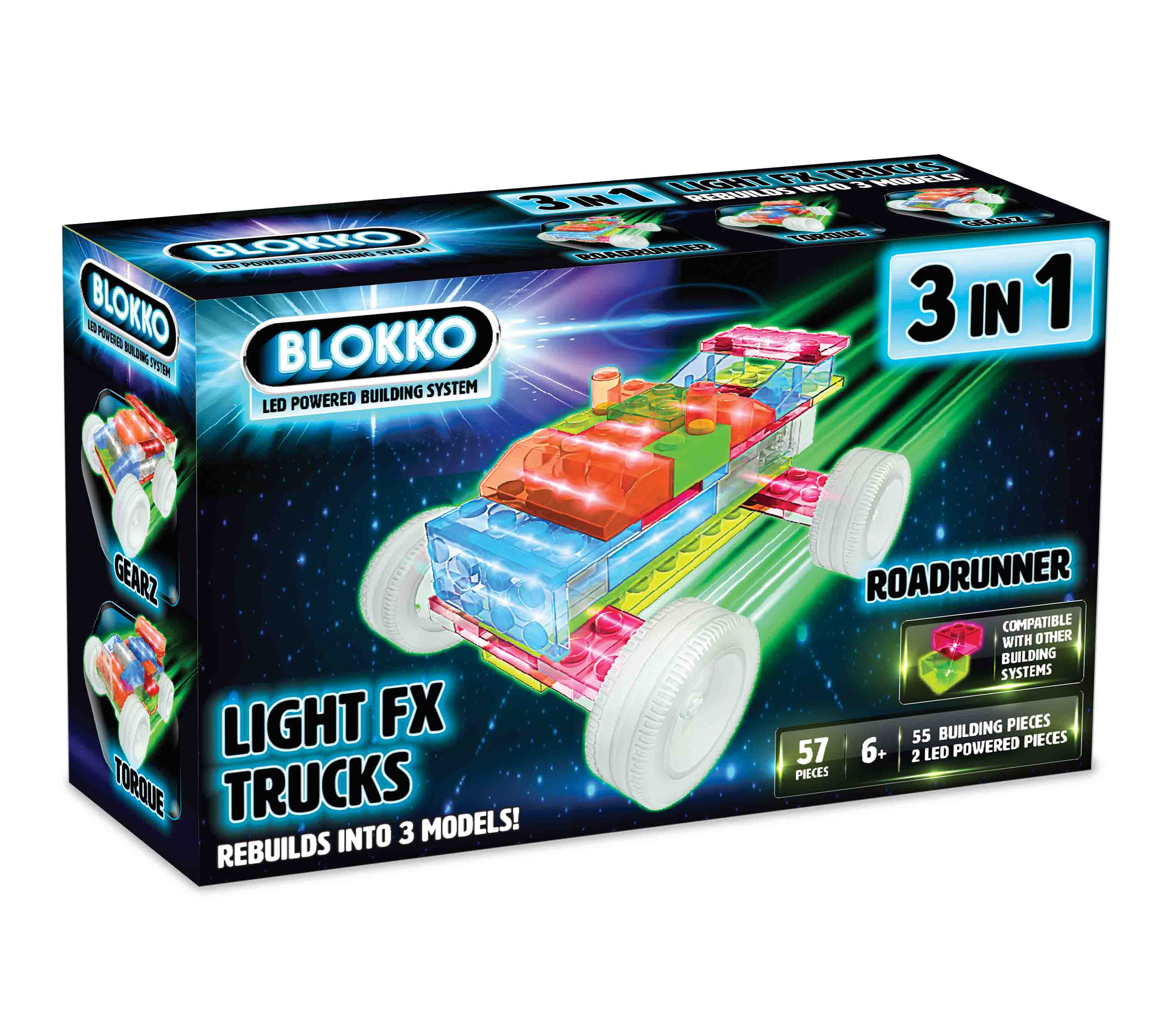 BLOKKO 3 IN 1 LIGHT TRUCK